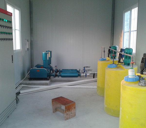 污水处理工程机房