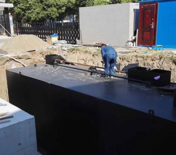 地埋式一体化污水处理工程