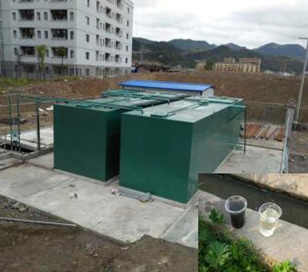 地上式一体化污水处理工程